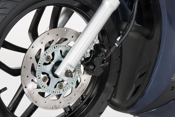 Skútr 125ccm - Kymco New People S 125i ABS   ABS brzdový systém
