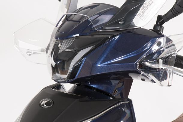 Skútr 125ccm - Kymco New People S 125i ABS   LED přední světlomet