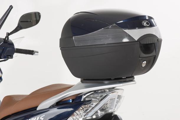 Skútr 125ccm - Kymco New People S 125i ABS   Kufr