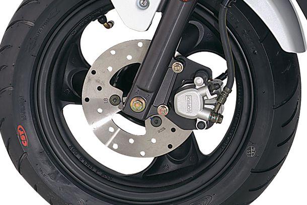Skútr 50ccm - Kymco Agility Carry 50 | Kotoučová brzda vpředu